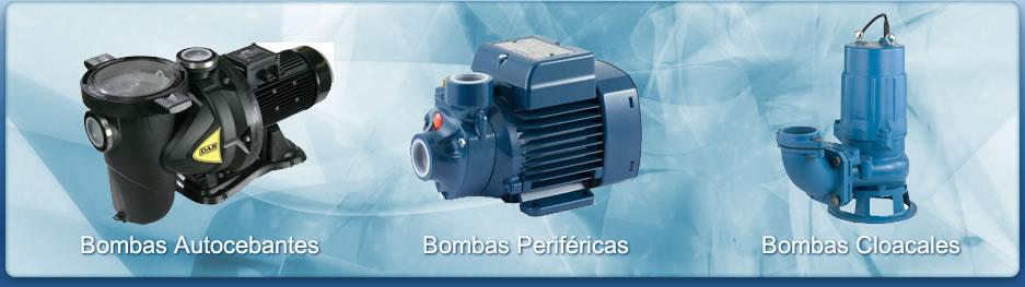 Bombas Autocebantes - Bombas Periféricas  - Bombas cloacales